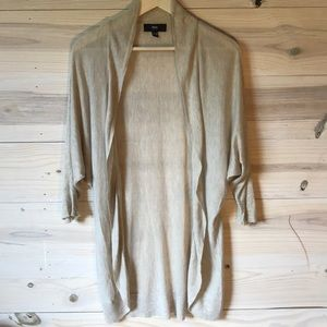 Mossimo | Open sweater 3/4 Sleeve | beige | M